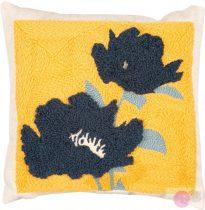 Kék virágos párna