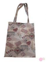 Textil szatyor - karikás