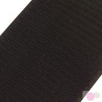 Tépőzár horog szélessége 100 mm-fekete