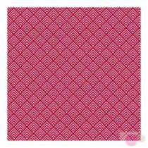 Pamutvászon-geometira-piros