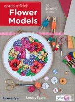 Keresztszemes virágok mintakönyv-Flower Models