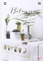 Keresztszemes hímzés minták botanic 155
