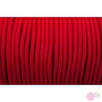Gumizsinór Ø3 mm- piros