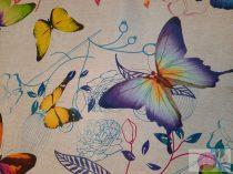 Pillangós viaszosvászon terítő