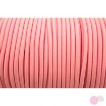 Gumizsinór Ø3 mm- rózsaszín