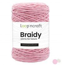Loop'nCraft Braidy 21 rózsaszín