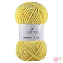 Bunny Baby plüssfonal 100-14-citromsárga