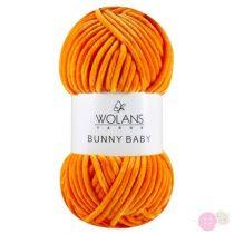 Bunny Baby plüssfonal 100-25-narancs