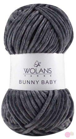 Bunny Baby plüssfonal 100-09 szürke