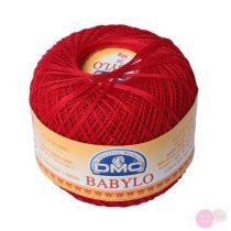 DMC Babylo horgolócérna - piros 321