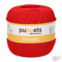 Puppets Eldorado horgolófonal - piros 07046
