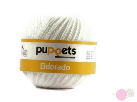 Puppets-Eldorado-horgolofonal-fehér