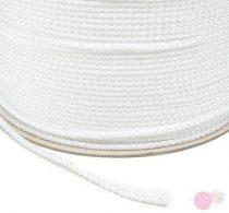 Fehér műszálas zsinór 5 mm