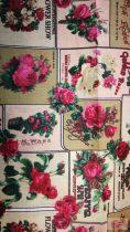 Pamutvászon-rózsák