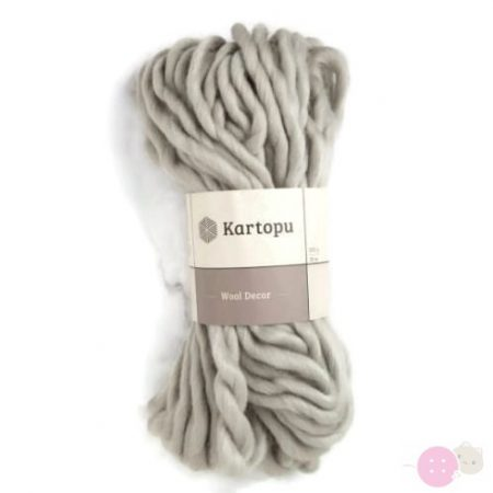 Kartopu-Wool-Decor-fonal-szurke