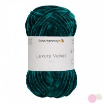 Luxury Velvet Zsenília fonal - smaragd 70