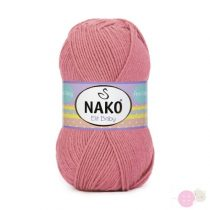 Nako Elit Baby fonal - 10325 - vénrózsa