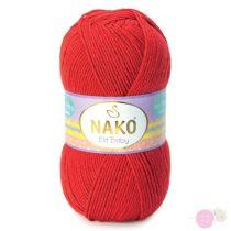 Nako Elit Baby fonal - 207 - piros