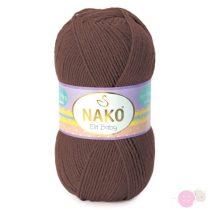 Nako Elit Baby fonal - 4367 - csokoládé